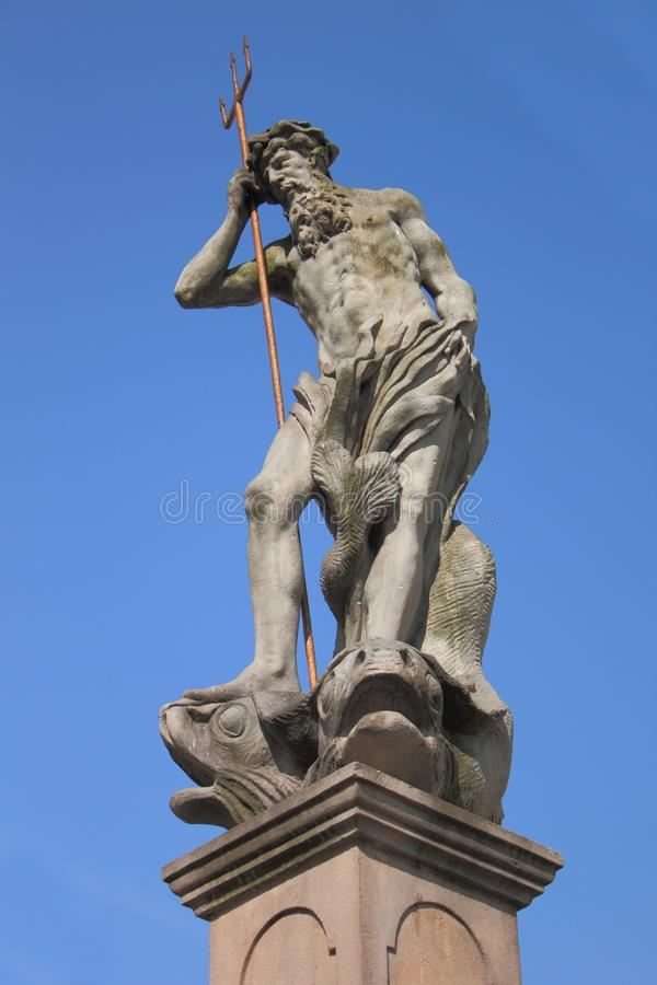 Download Neptune sculpture stock photo. Image of jelenia, legend - 22441438