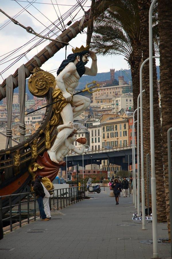 Neptune Ship Royaltyfri Foto