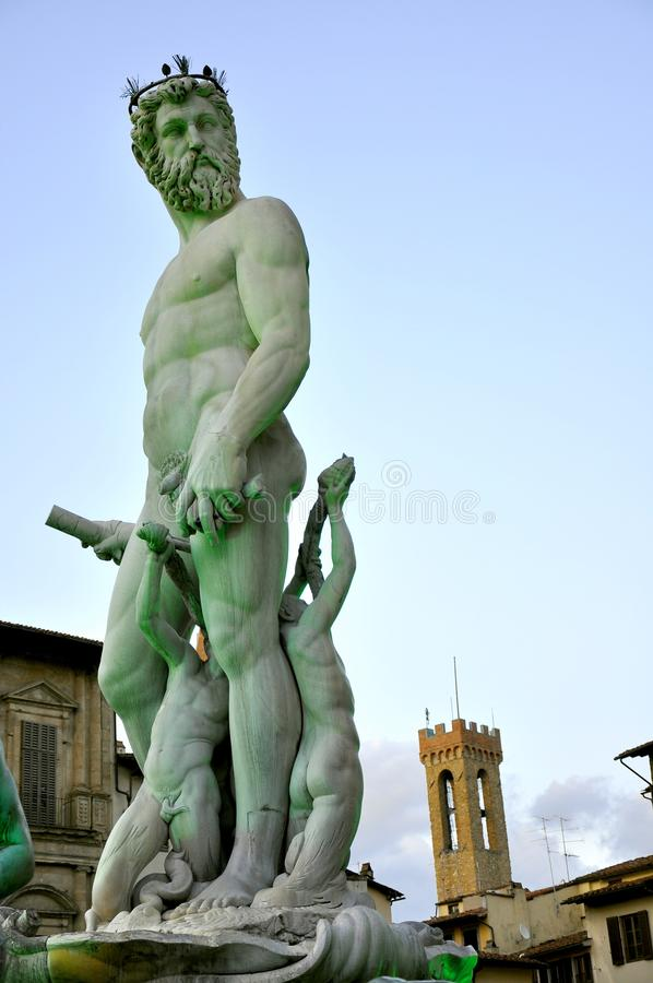 Download Neptune statue stock image. Image of face, building, famous - 14861311