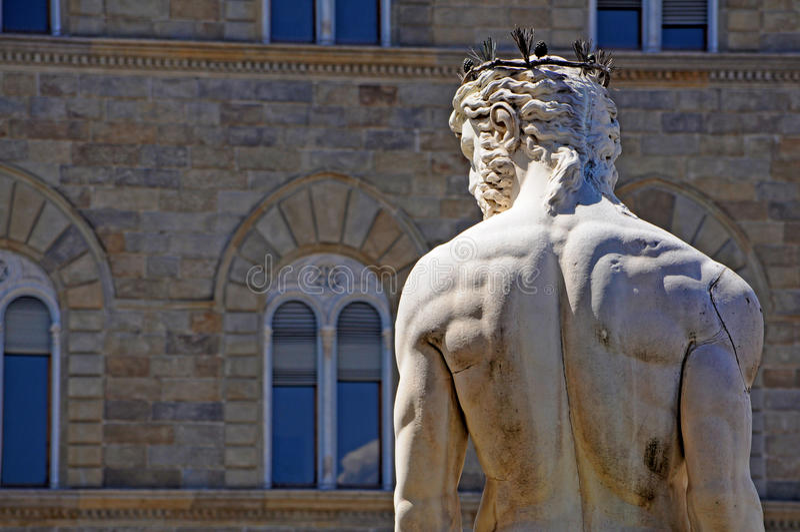 Download Neptune statue Florence stock image. Image of sigoria - 26015139