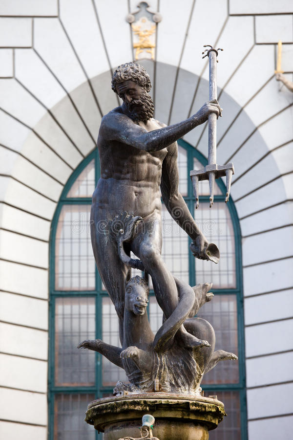 Download Neptune Statue in Gdansk stock image. Image of city, neptune - 21706467