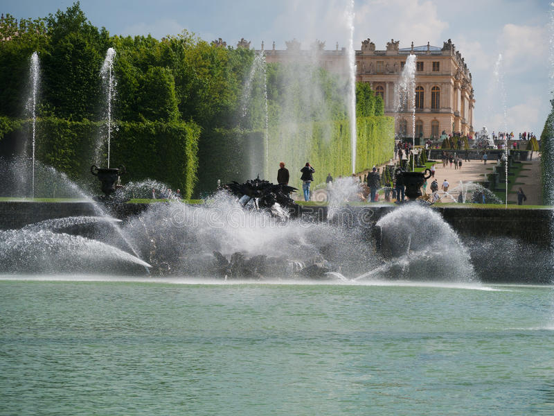Download Neptunes Garden In Versailles Paris Editorial Stock Photo - Image: 31928483