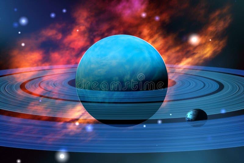 Neptuno ilustración del vector
