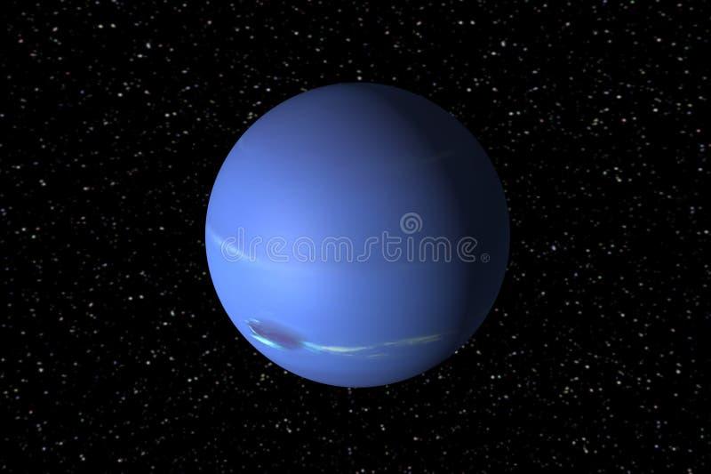 Neptunus royalty-vrije illustratie