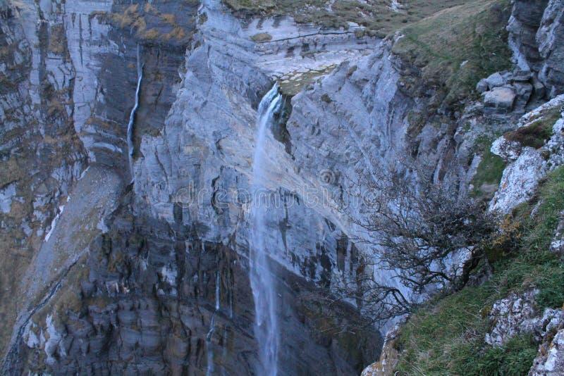 Nerbio ibaiaren jauzia, Delika, Amurrio Baskisch Land stock foto