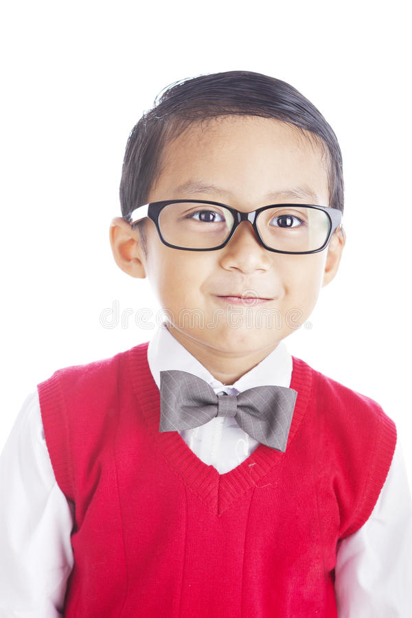 Download Nerd elementary student stock photo. Image of japanese - 25976546
