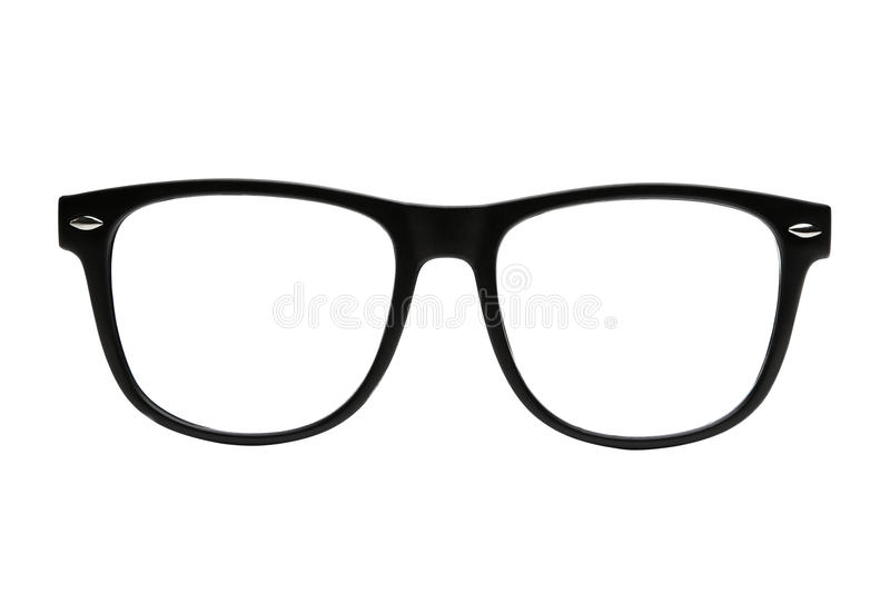Nerd frames isolated with clipping path royalty free stock photo