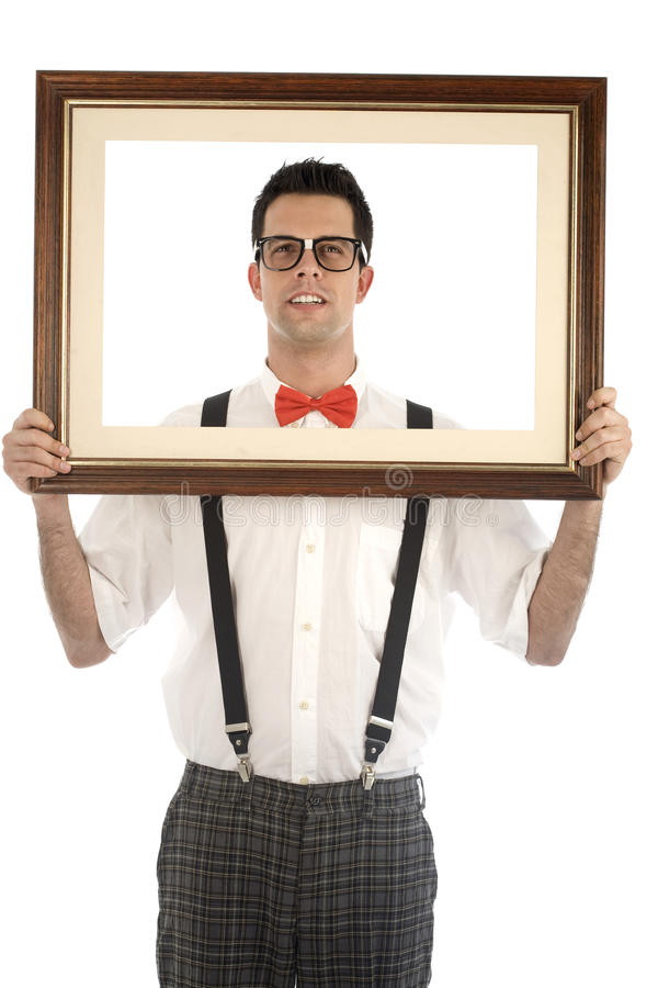 Download Nerd Isolated On White Royalty Free Stock Images - Image: 11680279