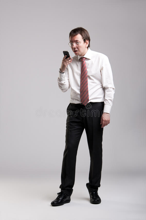 Nerdy Manager Stock Photos