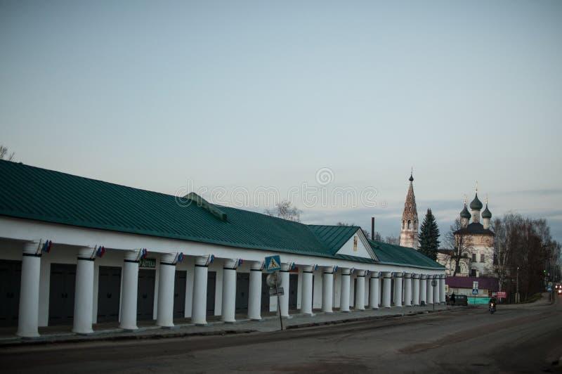 Nerekhta, Kostroma Oblast royalty-vrije stock afbeelding