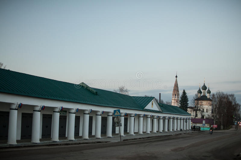 Nerekhta, Kostroma Oblast. Nerekhta is a town in Kostroma Oblast, Russia. It has been known since the early 13th century royalty free stock image