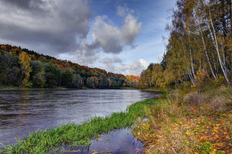 Neris Regional Park lizenzfreies stockbild