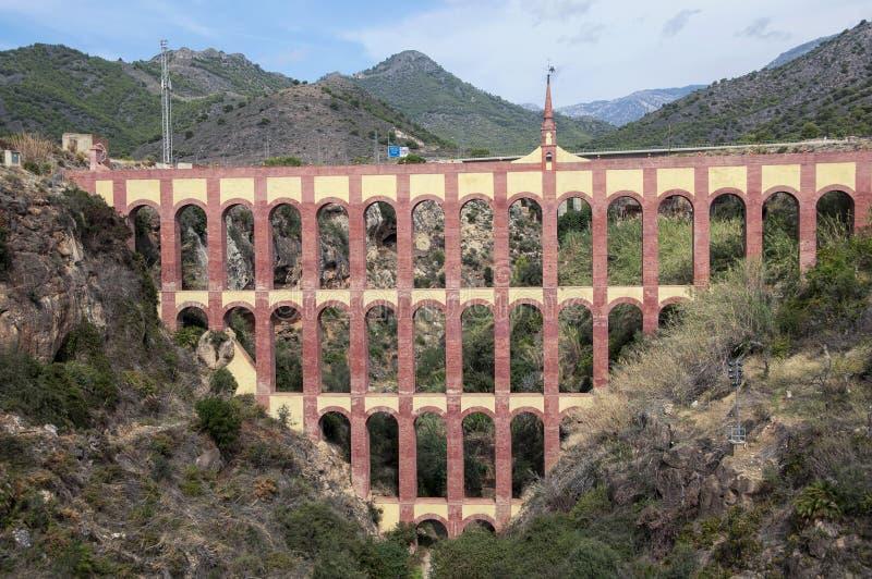Nerja - Eagle Aquaduct imagen de archivo