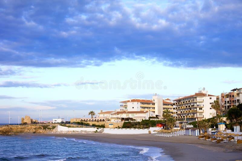Nerja en Costa del Sol imagen de archivo libre de regalías