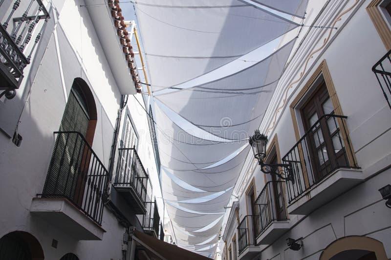 Nerja en España fotografía de archivo libre de regalías