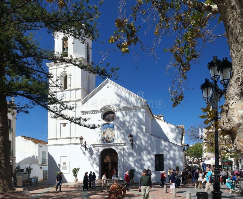 Nerja, Espagne images libres de droits