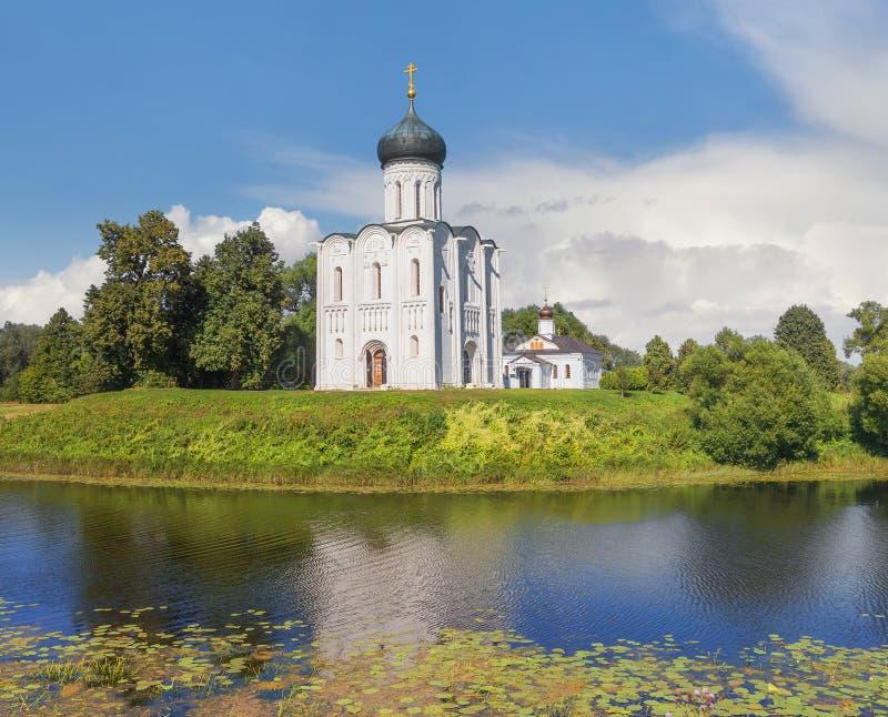 nerl intercession церков vladimir Россия стоковая фотография
