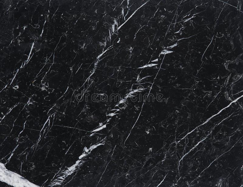 Nero de mármore Marquina imagem de stock royalty free