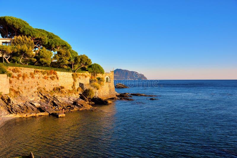 Nervi Γένοβα Ιταλία στοκ εικόνα με δικαίωμα ελεύθερης χρήσης