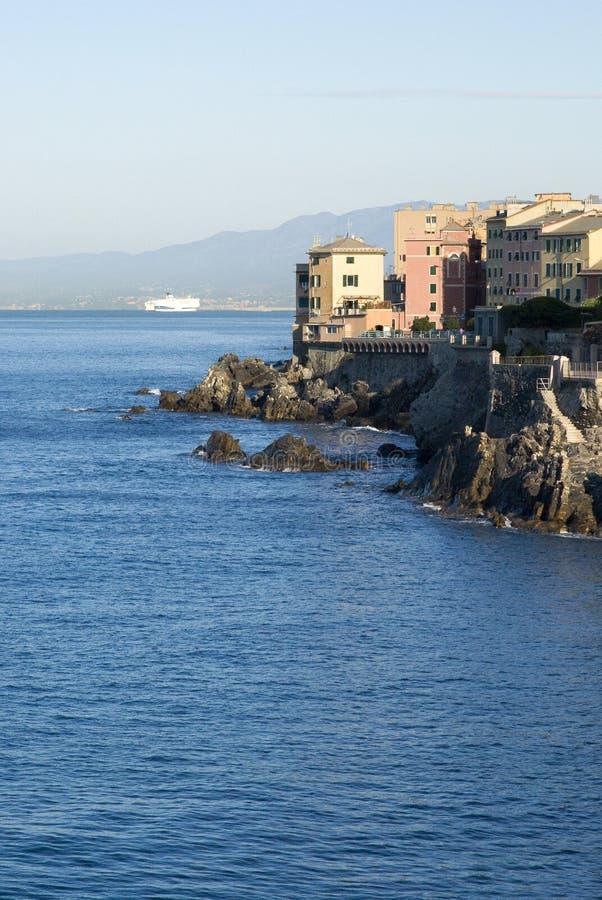 Nervi - Genova, Italia immagini stock libere da diritti