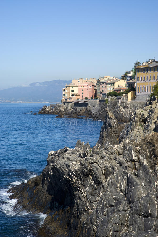 Nervi - Genova, Italia immagine stock