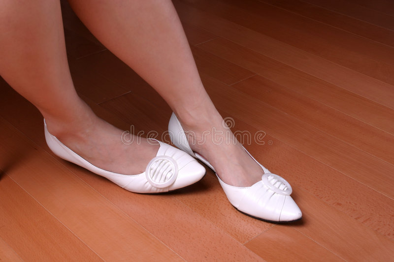 Download Nervous Feet Stock Photography - Image: 820332