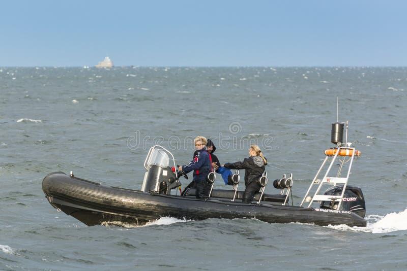 NERVURE en mer outre de Gdynia Pologne photo libre de droits