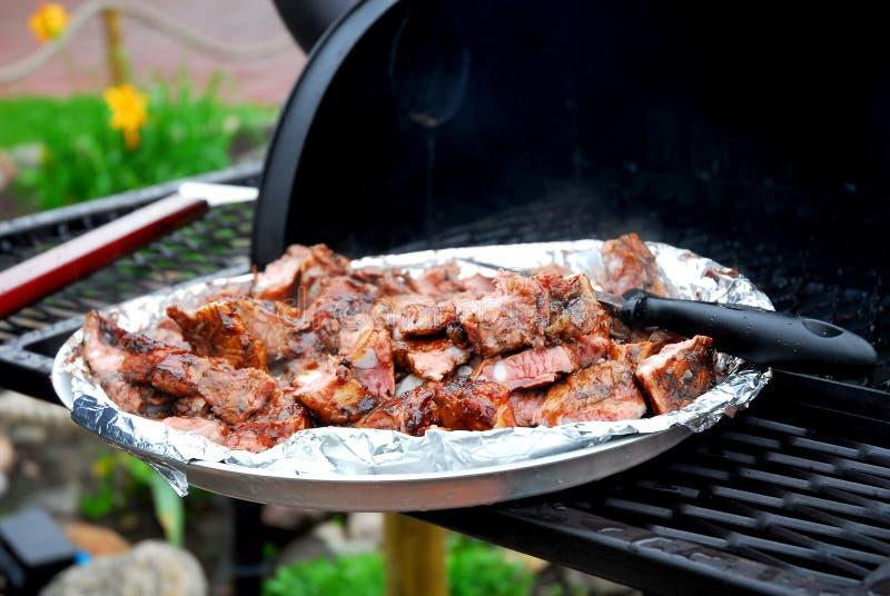 Nervures de BBQ photo libre de droits
