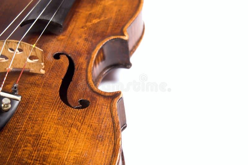 Nervures de violon image libre de droits