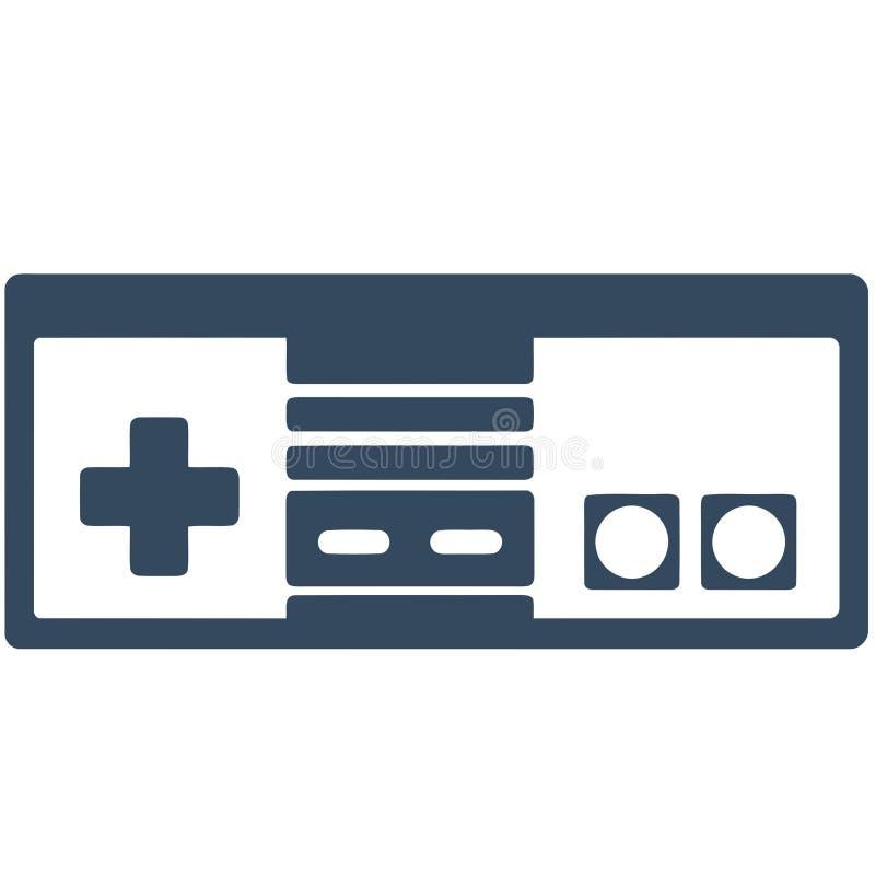 NES gry kontroler ilustracja wektor
