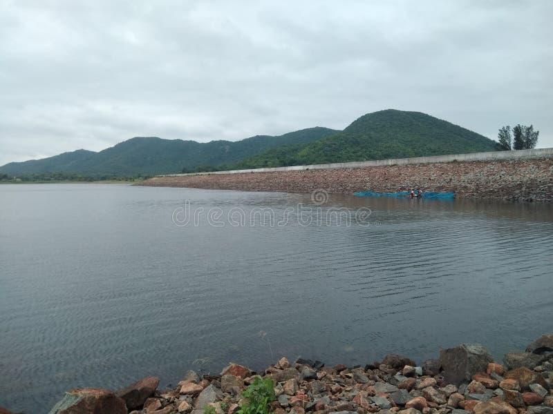 Nesa Dam very sweet  seen royalty free stock photos