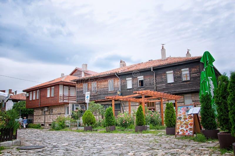 Nesebar Несебър, World Heritage of UNESCO royalty free stock photography