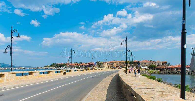 Nesebar City in Bulgaria stock photos