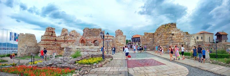 Nesebar Несебър, World Heritage of UNESCO stock images