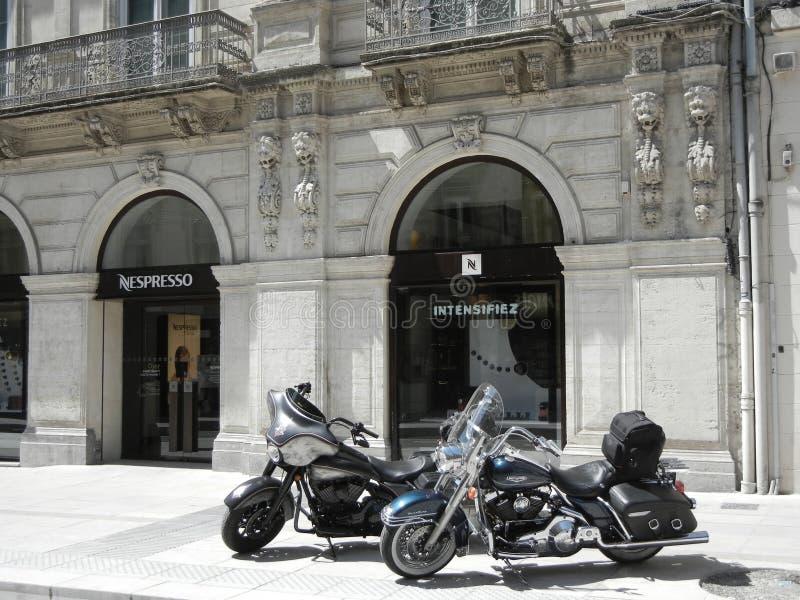 Nespresso商店在蒙彼利埃,法国 免版税库存照片
