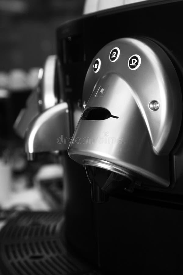 Nespresso Kaffeemaschine lizenzfreies stockbild