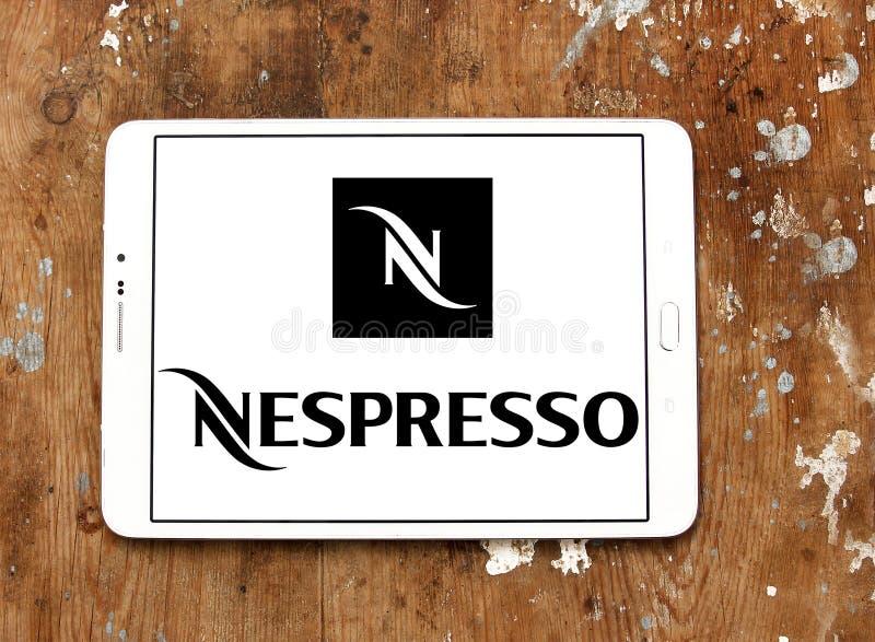 Nespressoembleem stock afbeelding