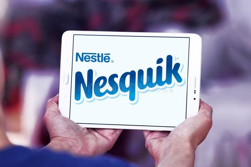 Nesquik品牌商标 免版税图库摄影