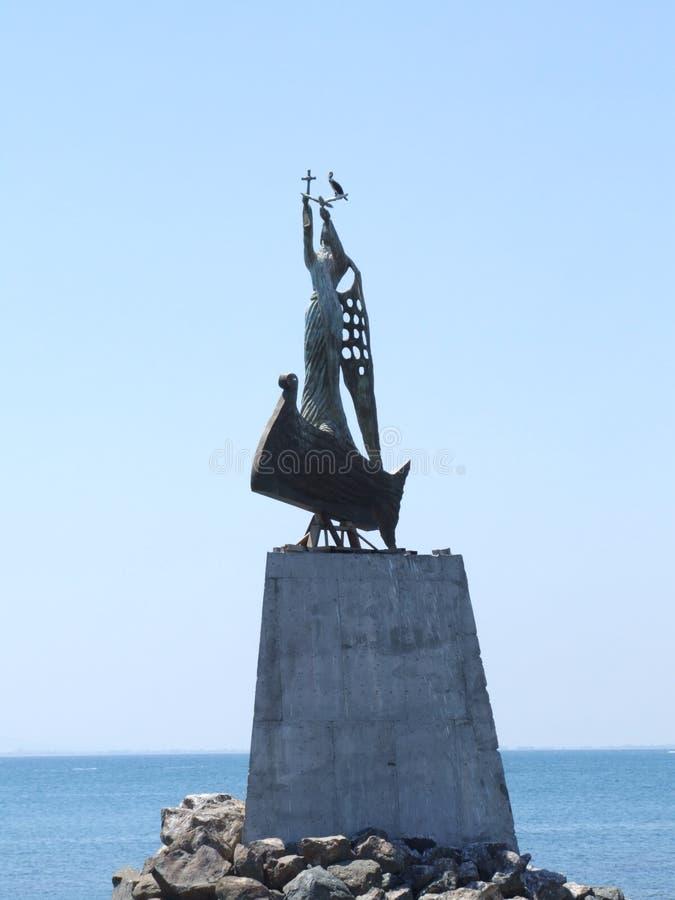 nessebar статуя стоковое изображение rf