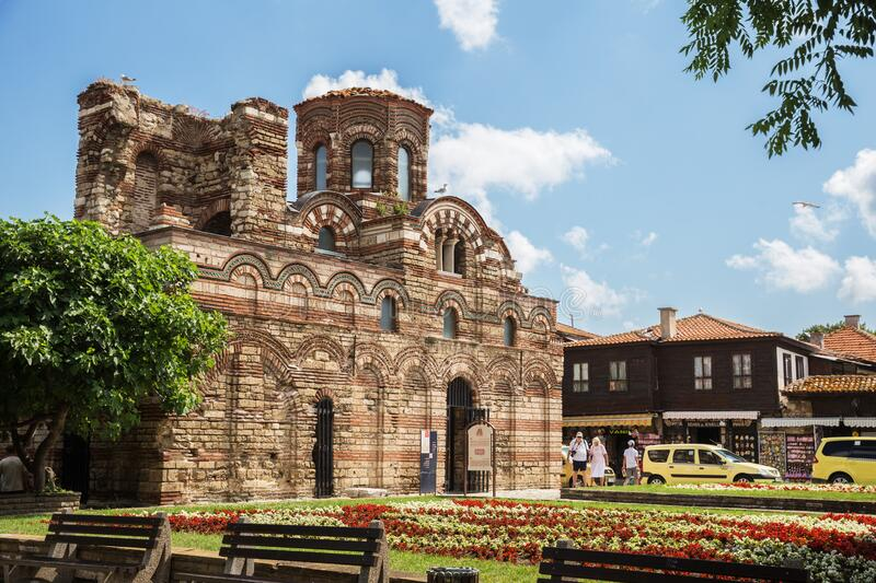 Church of Christ Pantocrator stock images