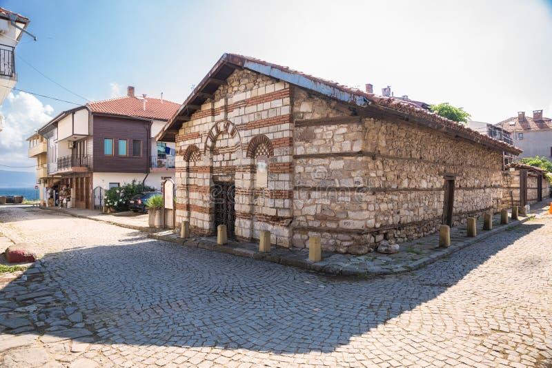 Church of St. Theodore in Nessebar, Bulgaria stock image