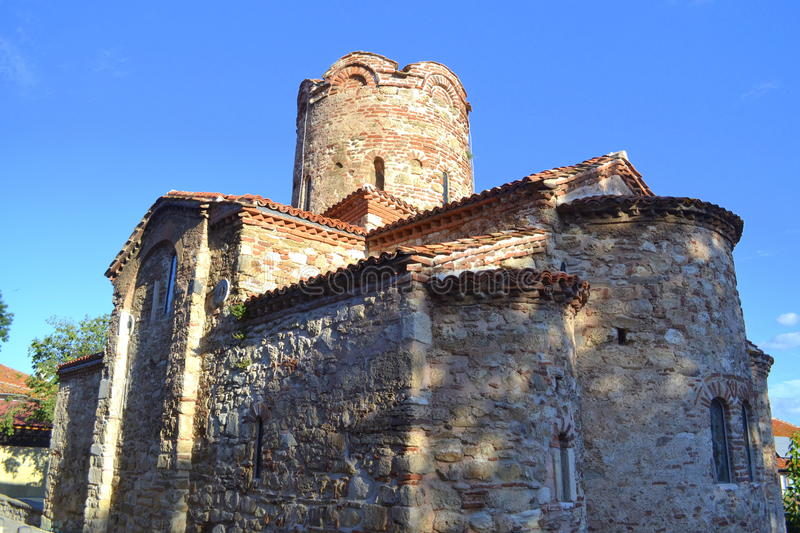 Nessebar medieval church royalty free stock photography
