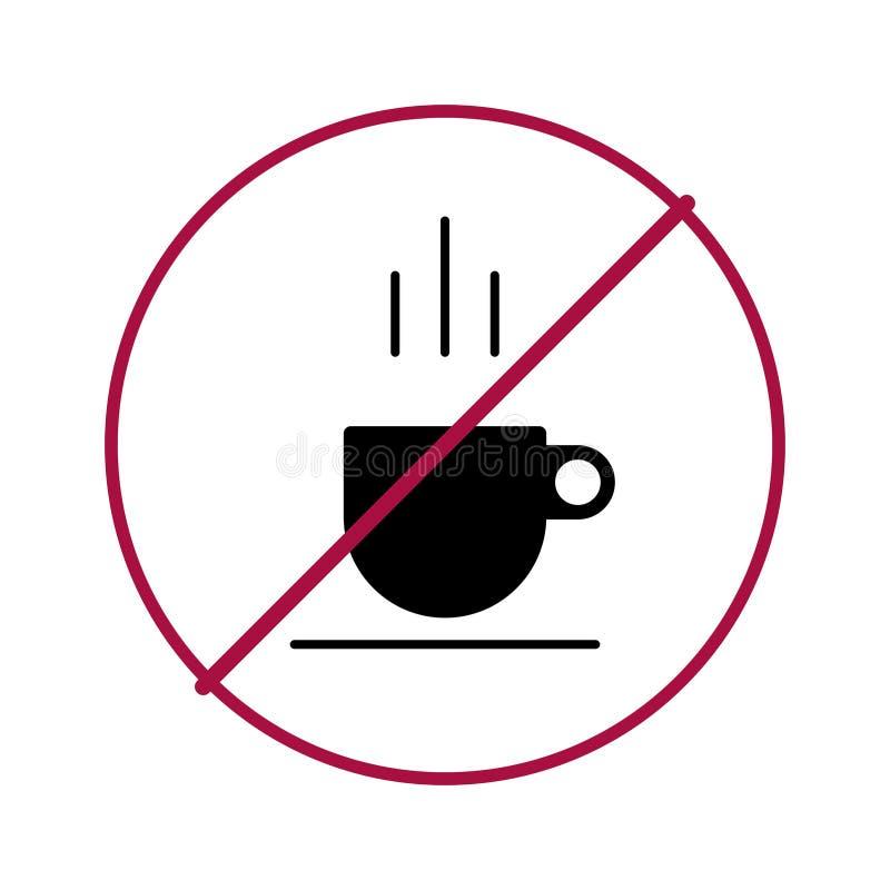 Nessun caff? illustrazione di stock