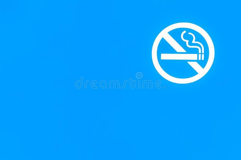 Nessun fumo fotografia stock