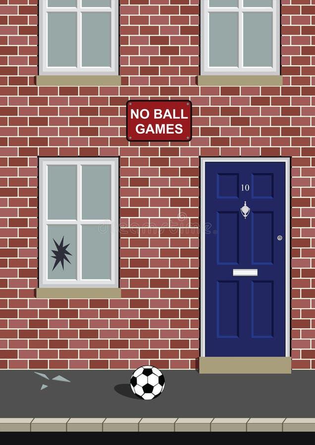Nessun giochi di sfera royalty illustrazione gratis