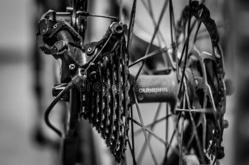 Nessun giro stasera con la bici fotografia stock libera da diritti