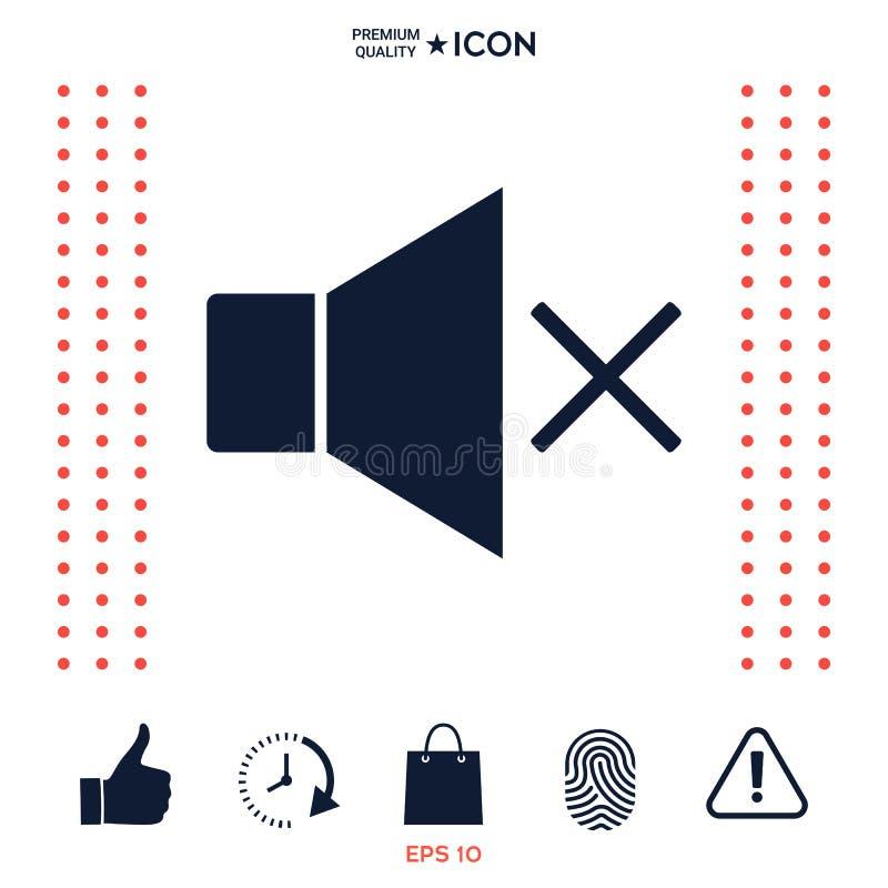 Download Nessun'icona del volume illustrazione vettoriale. Illustrazione di moderno - 117976088