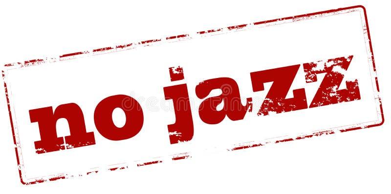 Nessun jazz illustrazione vettoriale
