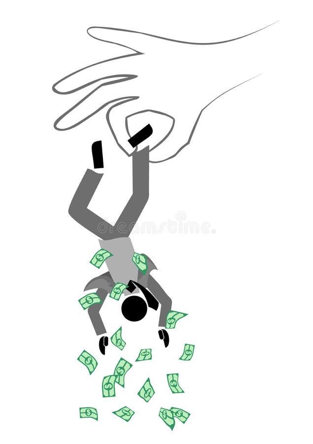 Nessun soldi royalty illustrazione gratis
