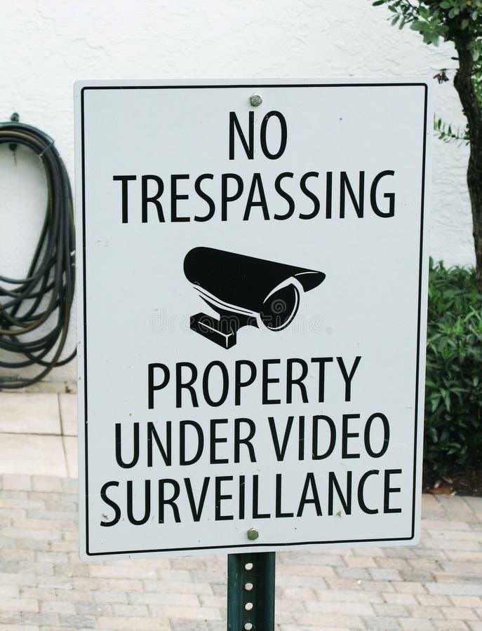 Nessuna proprietà violante nell'ambito del video immagine stock libera da diritti